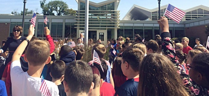 National Day of Remembrance at Eleanor Roosevelt Elementary