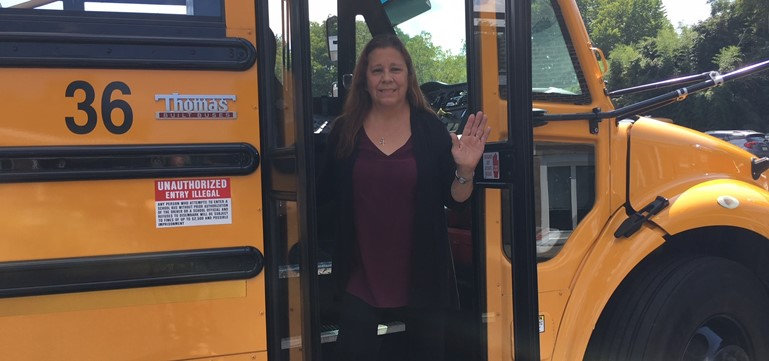 Congratulations to Jeanne Lakawitz, Pennsbury's Bus Driver of the Year!