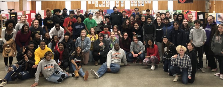 Several Pennsbury High School clubs joined together for the annual Diversity Fair and Food Festival in December.