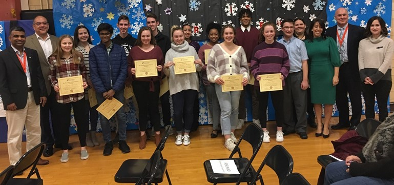 Big Brothers & Big Sisters of Pennsbury High School were honored by the Pennsbury School Board in January, which is National Mentoring Month.